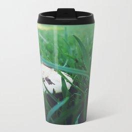 Green Grass Metal Travel Mug