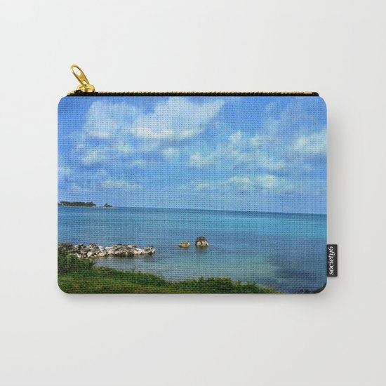 Island of Bermuda Carry-All Pouch