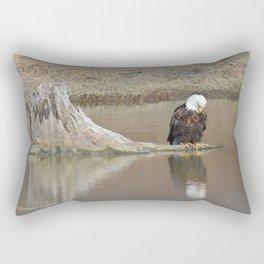 Self Reflection! Rectangular Pillow