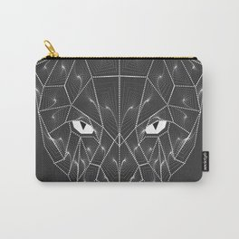 Panther Puma Black Zentangle Carry-All Pouch