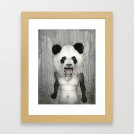 A bad day Framed Art Print