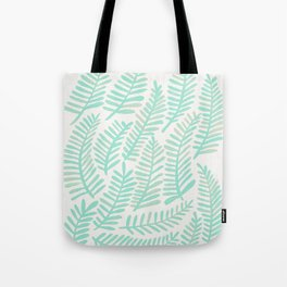 Fronds – Mint Green Palette Tote Bag