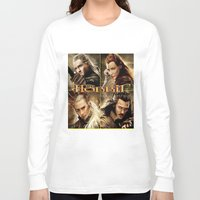 hobbit Long Sleeve T-shirts featuring Hobbit by custompro