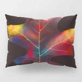 Rainbow Leaf Pillow Sham