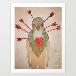 Bleeding Heart (Oh such a nice boy) Art Print