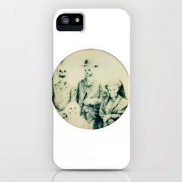 Calling All Skeletons No.5 iPhone Case
