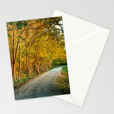 October Walk 3 Stationery Cards