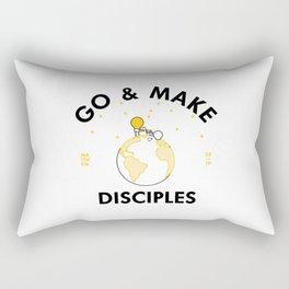 Go and Make Disciples Rectangular Pillow
