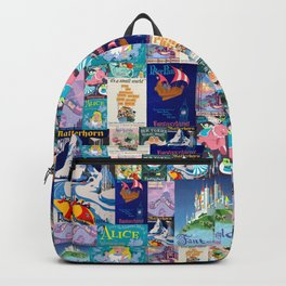 Fantasyland Vintage Attraction Posters Backpack