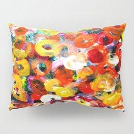 Aboriginal Art - Finger Painting Pillow Sham