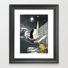 Dare To Be Different Framed Art Print
