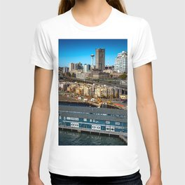 Seattle Space Needle and Aquarium T-shirt