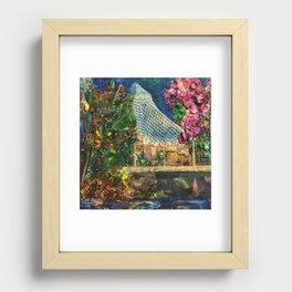 Lilac City 3: Pavilion, Riverfront Park Recessed Framed Print