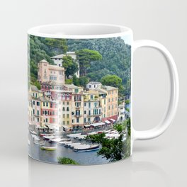 Portofino Harbour Italy Coffee Mug