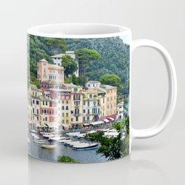 Portofino Harbour Italy Coffee Mug