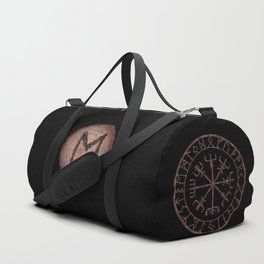 Eihwaz Elder Futhark Rune Strength, reliability, dependability, trustworthiness. Enlightenment Duffle Bag