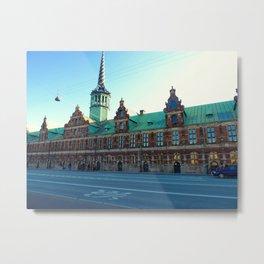 The Old Stock Exchange in Copenhagen Metal Print