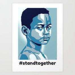 #standtogether Art Print