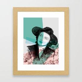 Ingrid Bergman's War of the Roses Framed Art Print