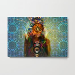 Treyeangle Metal Print