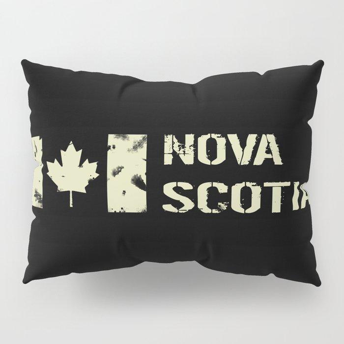 Canadian Flag: Nova Scotia Pillow Sham