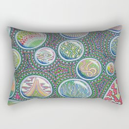 Many Worlds Rectangular Pillow