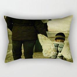 Angel among us. Rectangular Pillow