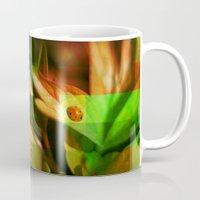 ladybug Mugs featuring Ladybug  by SensualPatterns