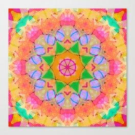 Energy Star Mandala Canvas Print