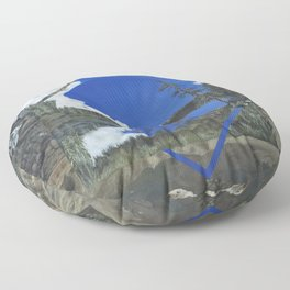 Grand Mesa Polyscape Floor Pillow