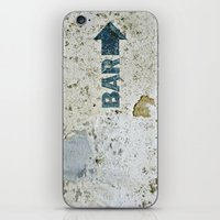 bar iPhone & iPod Skins featuring BAR by ollily