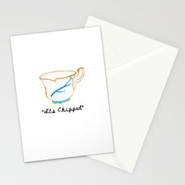 ITS CHIPPED  Stationery Cards