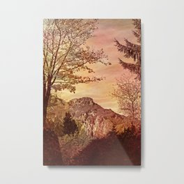 fall in mountains Metal Print