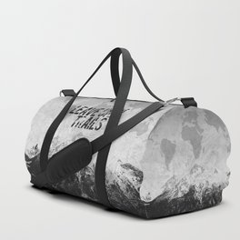 Leave Only Trails Duffle Bag