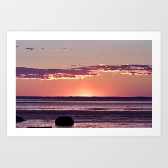 Dusk in the East Art Print