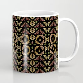 Art Nouveau Moths & Orchids Coffee Mug