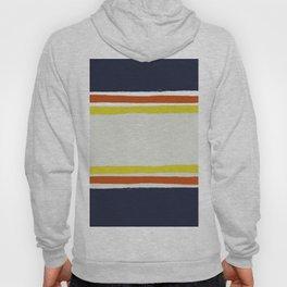 Simple Desert Night Stripes Hoody