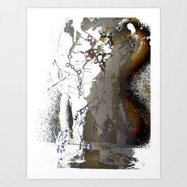 Light Warrior Art Print