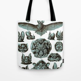 Ernst Haeckel Bats Moonlight Tote Bag