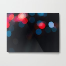 Because Bokeh Metal Print
