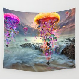 On Distant Shores Wall Tapestry