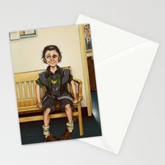Loki Outside the Principal's Office Stationery Cards