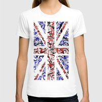 union jack T-shirts featuring Union Jack by David T Eagles
