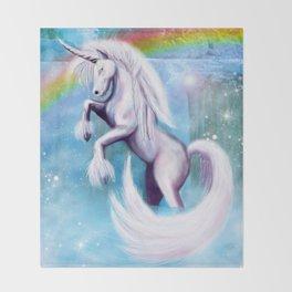 Unicorn and Sparkles - Day Throw Blanket