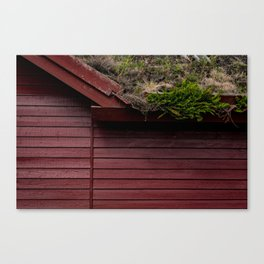 The Scandinavian House Canvas Print