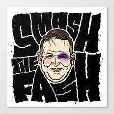 SMASH THE FASH Canvas Print