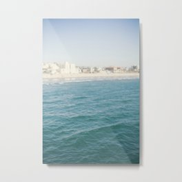 Santa Monica Beach II Metal Print
