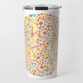 Color blind Travel Mug