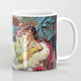 Message Of Love - Hans Zatzka Coffee Mug