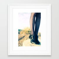 classy Framed Art Prints featuring Classy by Flower